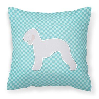 Bedlington Terrier Indoor/Outdoor Throw Pillow Size: 14