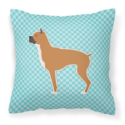 Boxer Indoor/Outdoor Throw Pillow Size: 18