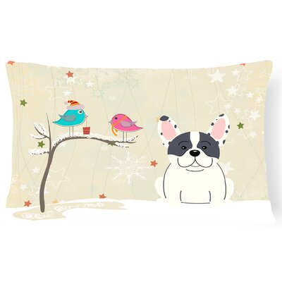 Christmas Handmade Indoor/Outdoor Lumbar Pillow Color: Piebald