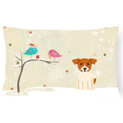 Christmas Handmade Modern & Contemporary Indoor/Outdoor Lumbar Pillow