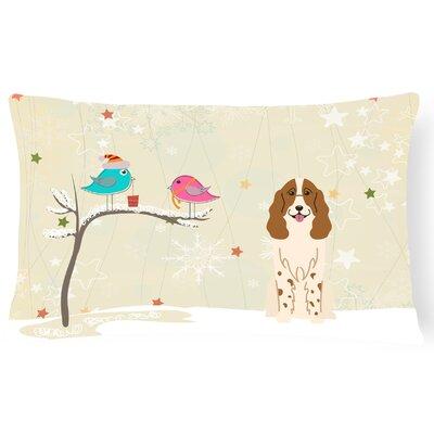 Christmas Modern & Contemporary Neutral Indoor/Outdoor Lumbar Pillow