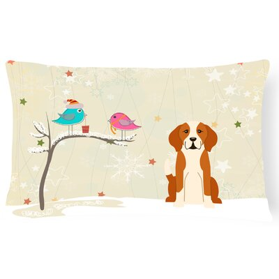 Christmas Handmade Solid Pattern Indoor/Outdoor Lumbar Pillow