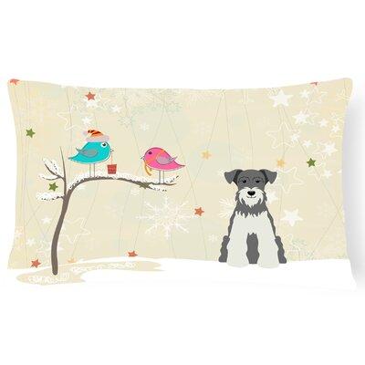 Christmas Indoor/Outdoor Lumbar Pillow Color: Salt/Pepper
