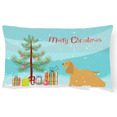 Cocker Spaniel Indoor/Outdoor Lumbar Pillow