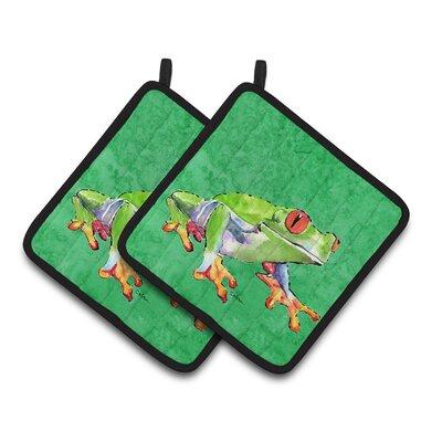 Frog Potholder 8688PTHD