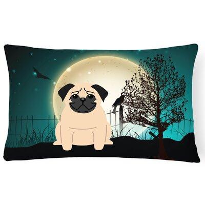 Halloween Indoor/Outdoor Lumbar Pillow Color: Fawn