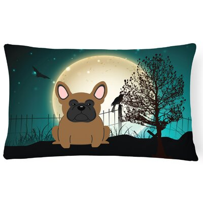Halloween Indoor/Outdoor Lumbar Pillow Color: Brown