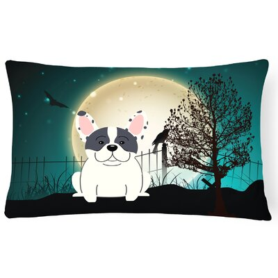 Halloween Indoor/Outdoor Lumbar Pillow Color: Piebald