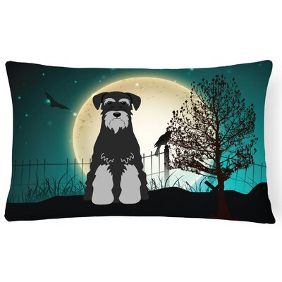 Halloween Indoor/Outdoor Lumbar Pillow Color: Black/Gray