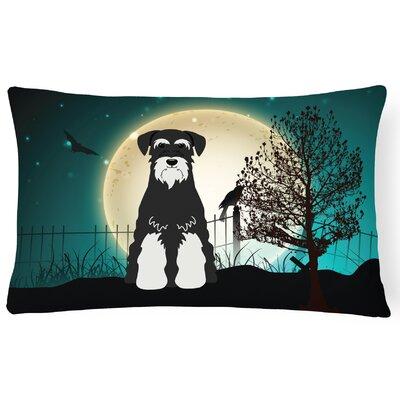 Halloween Indoor/Outdoor Lumbar Pillow Color: Salt