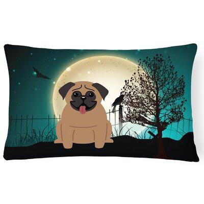 Halloween Indoor/Outdoor Lumbar Pillow Color: Brown