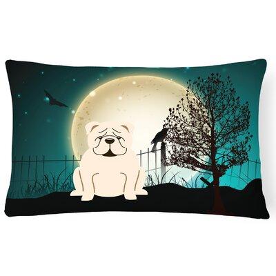 Halloween Indoor/Outdoor Lumbar Pillow Color: White