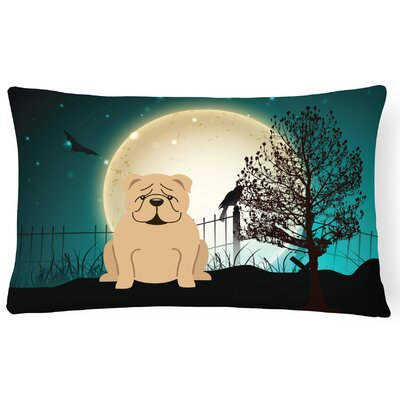 Halloween Indoor/Outdoor Lumbar Pillow Color: Fawn