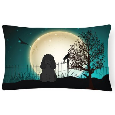 Halloween Indoor/Outdoor Lumbar Pillow Color: Black