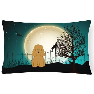 Halloween Indoor/Outdoor Lumbar Pillow Color: Tan