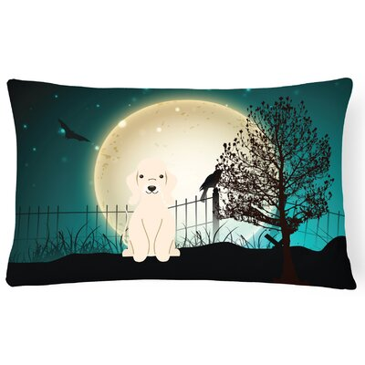 Halloween Indoor/Outdoor Lumbar Pillow Color: Sandy