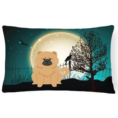 Halloween Indoor/Outdoor Lumbar Pillow Color: Cream