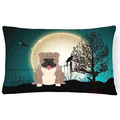 Halloween Indoor/Outdoor Lumbar Pillow Color: Gray