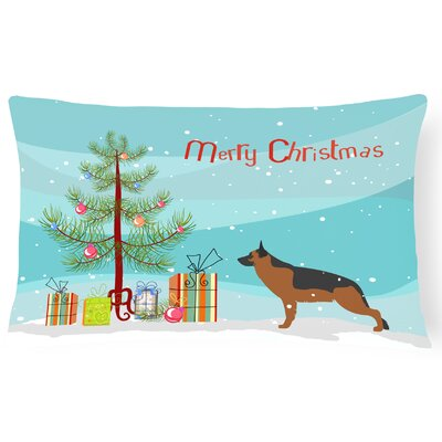 German Shepherd Indoor/Outdoor Lumbar Pillow