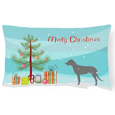 Irish Wolfhound Indoor/Outdoor Lumbar Pillow