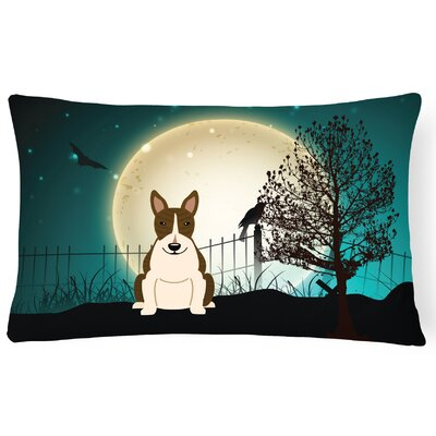 Halloween Indoor/Outdoor Lumbar Pillow Color: Dark Brindle