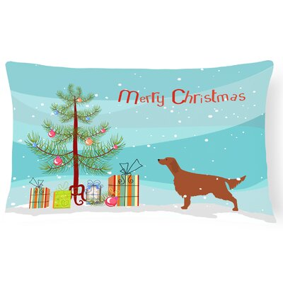 Irish Setter Indoor/Outdoor Lumbar Pillow