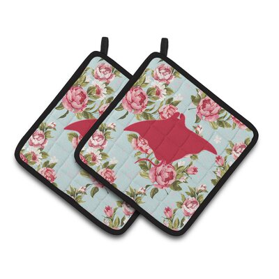 Manta Ray Potholder BB1014-RS-BU-PTHD