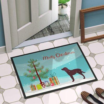 American Water Spaniel Door Mat Mat Size: 16 x 23