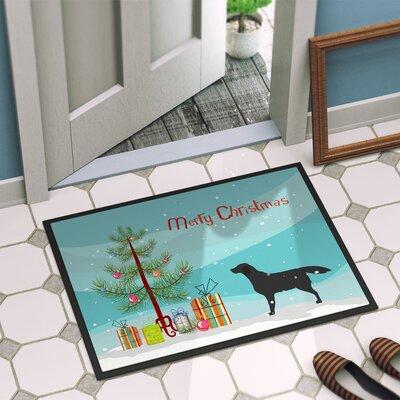 Labrador Door Mat Rug Size: 16 x 23