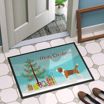 Beagle Door Mat Rug Size: 2 x 3