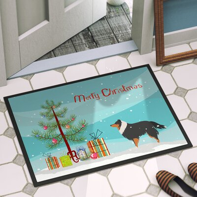 Sheltie Door Mat Mat Size: 16 x 23