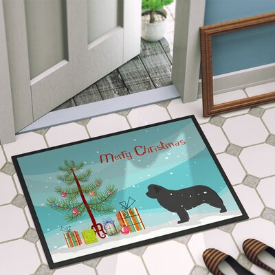 Newfoundland Door Mat Rug Size: 2 x 3