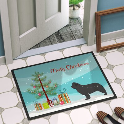 Newfoundland Door Mat Rug Size: 16 x 23