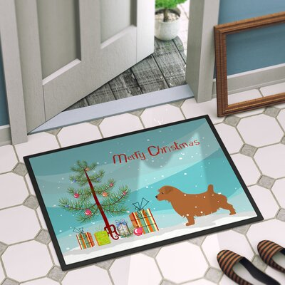 Norfolk Terrier Door Mat Rug Size: 16 x 23