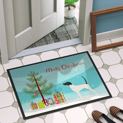 English Pointer Door Mat Rug Size: 16 x 2 3