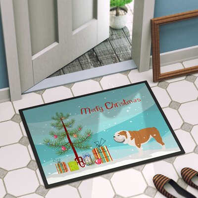 English Bulldog Door Mat Mat Size: 16 x 2 3