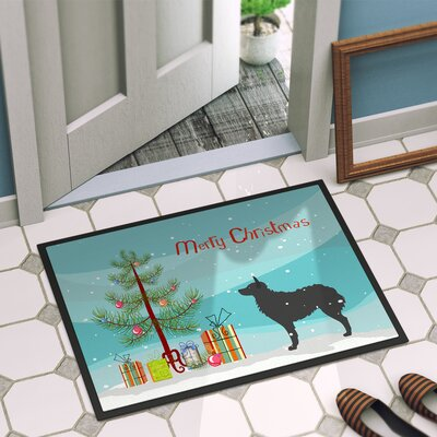 Croatian Sheepdog Door Mat Mat Size: 16 x 23