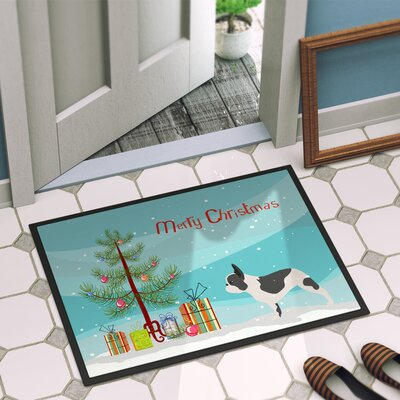 French Bulldog Door Mat Mat Size: 16 x 2 3