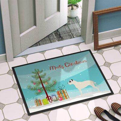 Dogo Argentino Door Mat Mat Size: 16 x 2 3