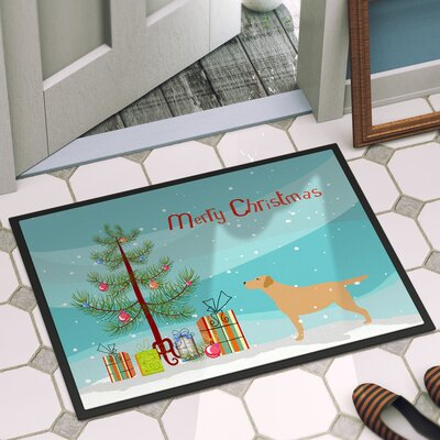Labrador Retriever Door Mat Rug Size: 2 x 3