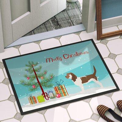 Grand Basset Griffon Vendeen Door Mat Rug Size: 16 x 23