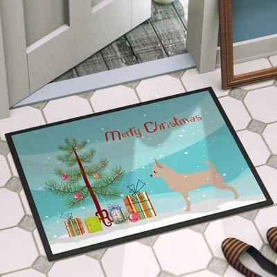 Chihuahua Door Mat Rug Size: 2 x 3