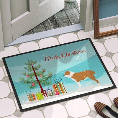 Central Asian Shepherd Dog Door Mat Mat Size: 2 x 3