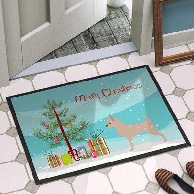 Chihuahua Door Mat Rug Size: 16 x 23