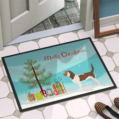 Grand Basset Griffon Vendeen Door Mat Rug Size: 2 x 3