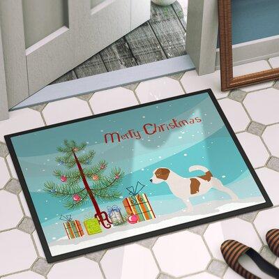 Jack Russell Door Mat Mat Size: 2 x 3