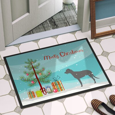 Irish Wolfhound Door Mat Mat Size: 2 x 3