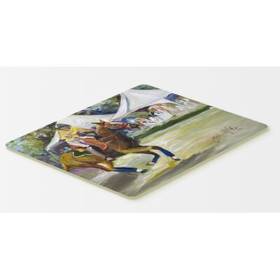 Polo At The Point Kitchen/Bath Mat Size: 24 H x 36 W x 0.25 D