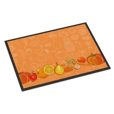 Fruits and Vegetables Indoor/Outdoor Doormat