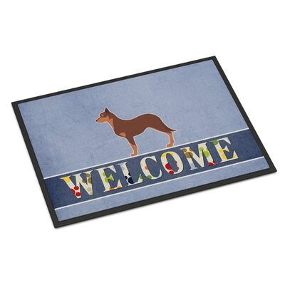 Australian Kelpie Dog Indoor/Outdoor Doormat